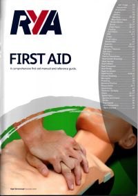 Image of the RYA First Aid manual.